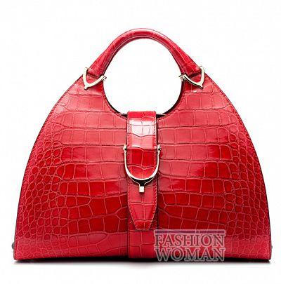 Красная сумка Gucci