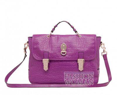 Модная сумка портфель осень 2011