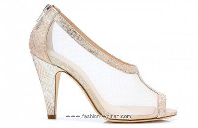 Свадебная обувь 2011