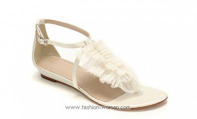 Летняя свадебная обувь