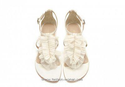 Свадебные сандалии от  Loeffler Randall 2011