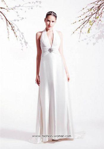 Атласное свадебное платье от Blumarine