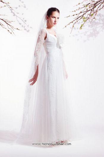 свадебное платье от Blumarine 2011