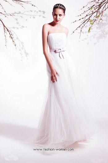 свадебное платье-бюстье
