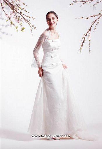 Кружевное свадебное платье от Blumarine
