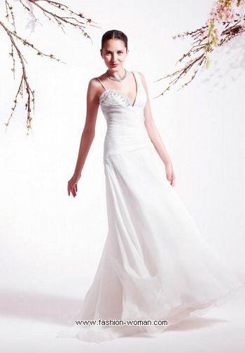 Длинное свадебное платье от Blumarine