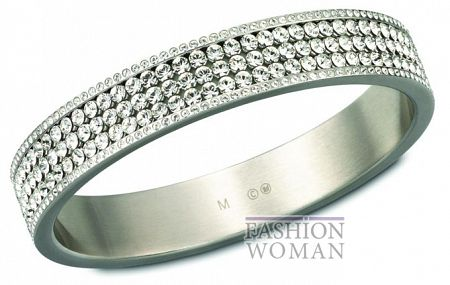 Кольцо с кристаллами Сваровски