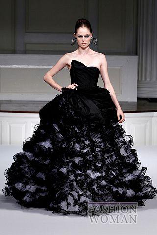 Вечернее платье от   Oscar de la Renta