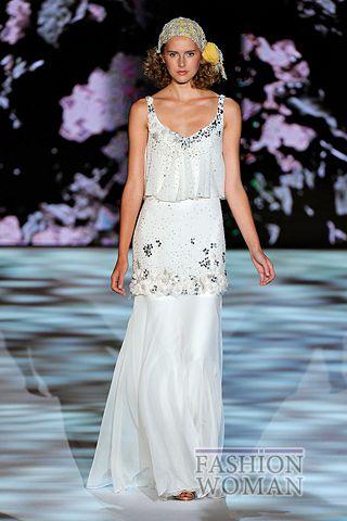 Белое платье лето 2011
