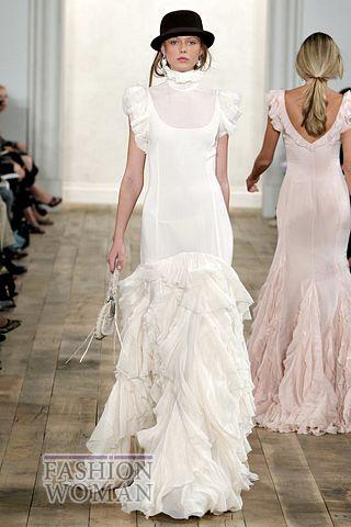 Белое платье от Ralph Lauren