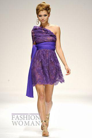 Кружевное платье на выпуск