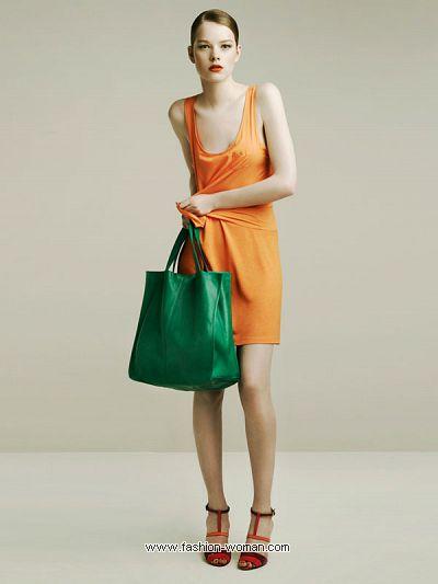 Женская одежда Zara весна-лето 2011