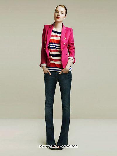 Модный пиджак  Zara весна-лето 2011
