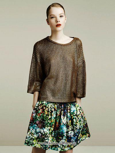 Модная юбка Zara весна-лето 2011