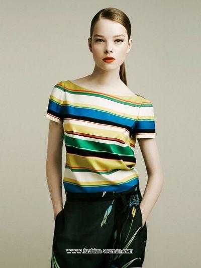 Модная полоска от Зара лето 2011