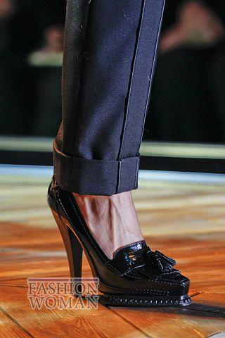 Модные Лоферы на каблуке от Roberto Cavalli