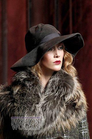 modnie shlyapi osen zima 2011 2012 2