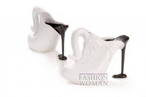 необычная архитектурная обувь