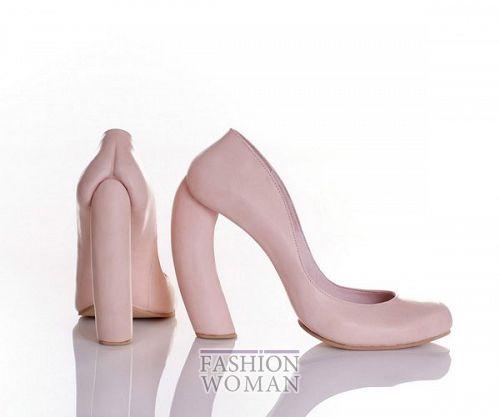 необычные туфли на каблуке