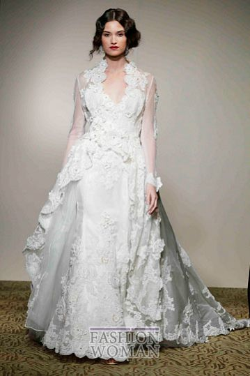 svadebnie platya st pucchi spring 2012 bridal shows 7