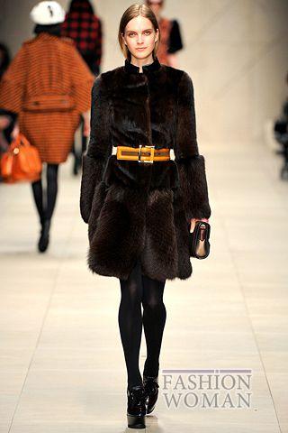modnye tendencii osen zima 2011 2012 burberry prorsum