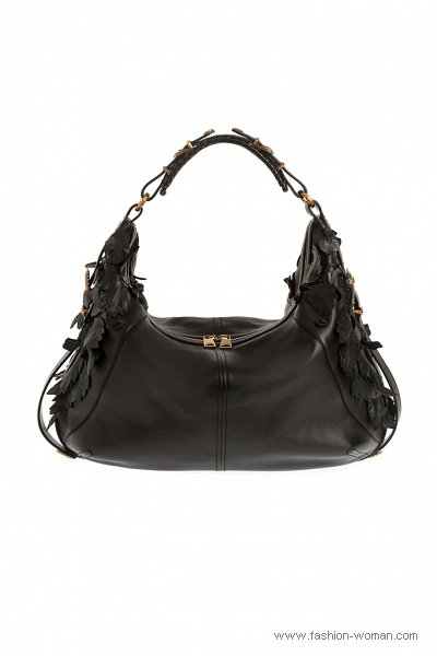 модная сумка от Alexander McQueen весна-лето 2011