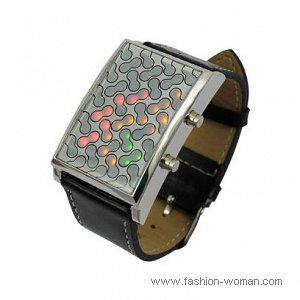 модные бинарные часы фото