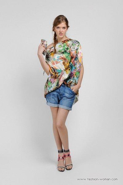 Модные джинсовые шорты Diesel весна-лето 2011