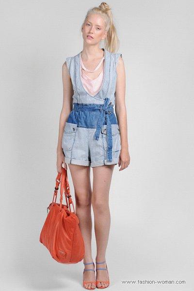 Модный джинсовый комбинезон  Diesel весна-лето 2011