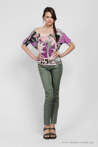 Модные узкие брюки весна-лето 2011