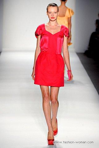 маленькое красное платье от alexandre herchcovitch
