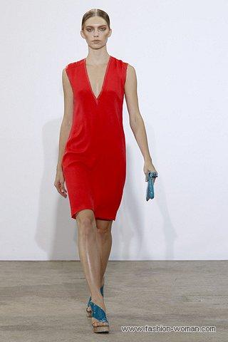 маленькое красное платье costume-national