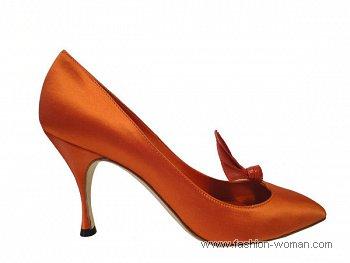 шелковые туфли от маноло бланик
