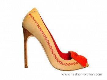 модные туфли весна-лето 2011