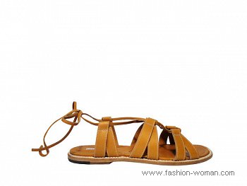 сандалии от Manolo Blahnik лето 2011