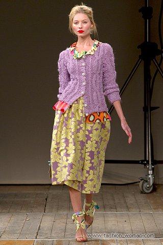 модный цвет 2011-лавандовый