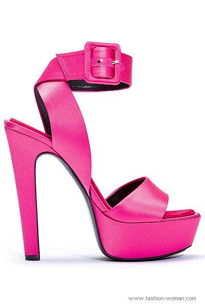 модная женская обувь 2011