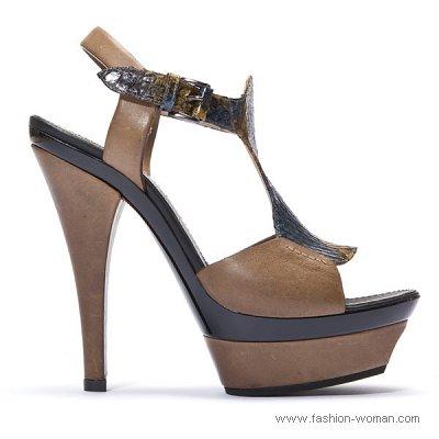 модная женская обувь лето 2011