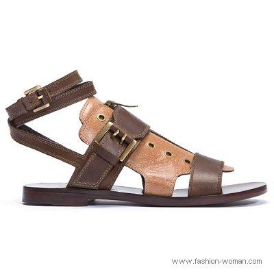 кожаные сандалии 2011