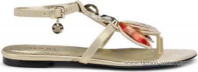 модные сандалии от Patrizia Pepe