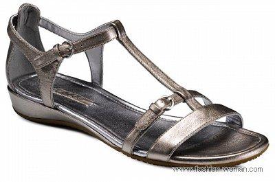 летняя обувь 2011 Ecco