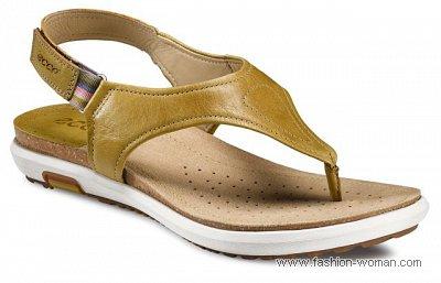 обувь на плоской подошве Ecco весна-лето 2011