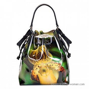 сумка с цветком от Furla
