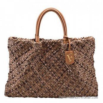 плетеная сумка от Фурла весна-лето 2011