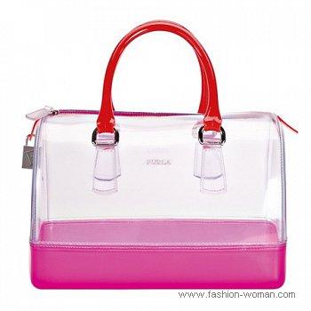 прозрачная сумка от Фурла