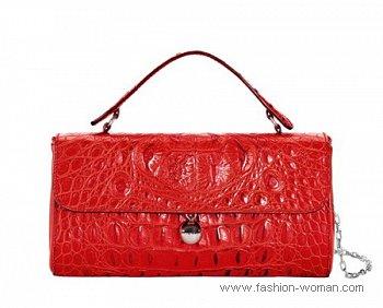 модная красная сумка от Furla весна-лето 2011