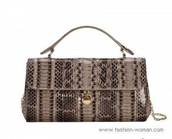 сумка со змеиным принтом Furla весна-лето 2011