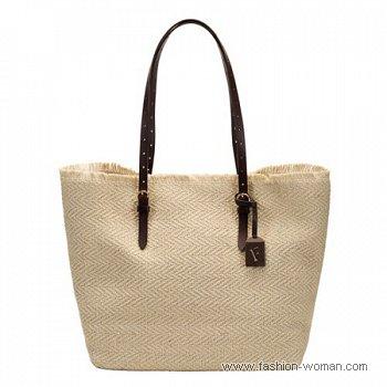 сумка из текстиля от Furla