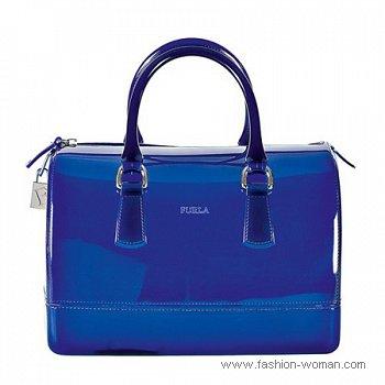 сумка из ПВХ от Furla