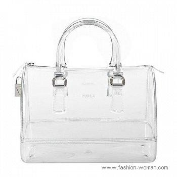 модная прозрачная сумка Фурла